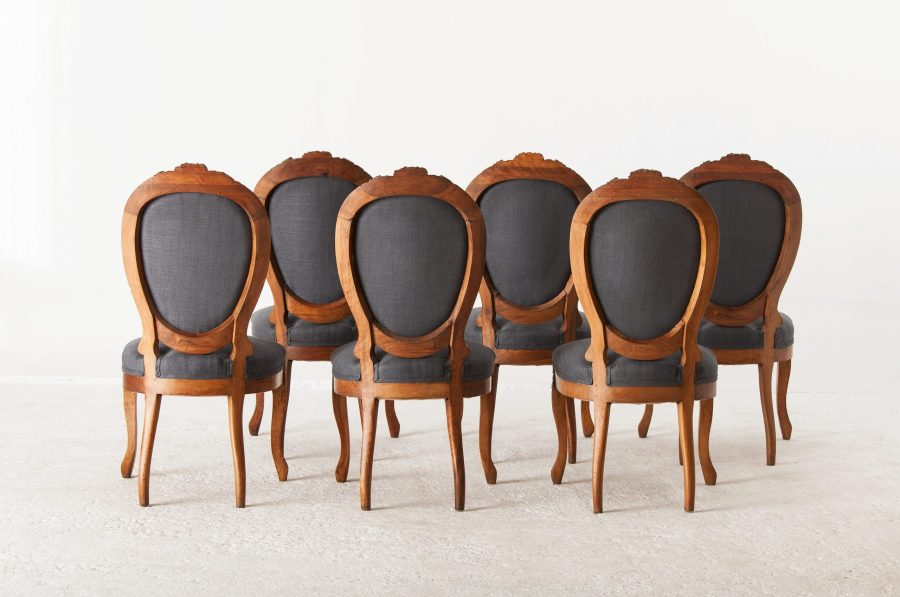 ALTEA IMG 7148 300dpi scaled Set Of 6 French Dinning Chairs