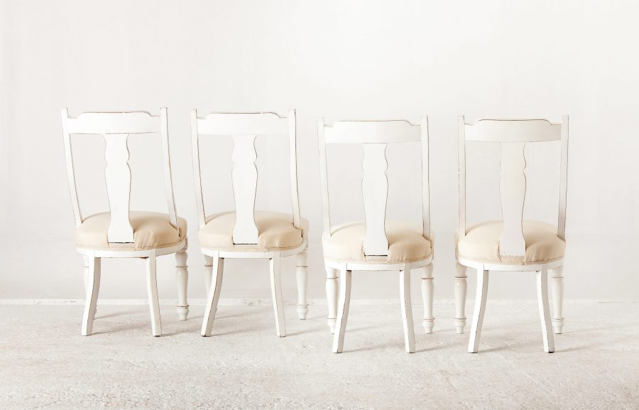 ALTEA IMG 7239 300dpi scaled Set Of 4 Painted Dinning Chairs
