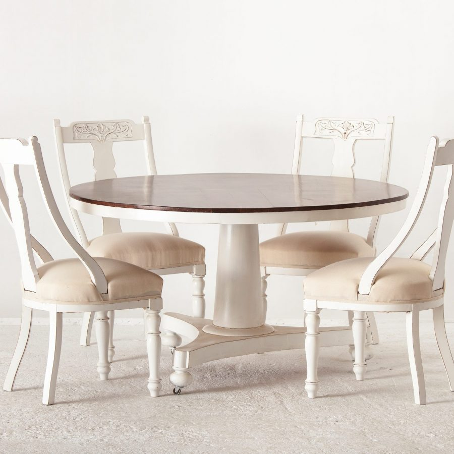 ALTEA IMG 7274 300dpi 5000 scaled Set Of 4 Painted Dinning Chairs