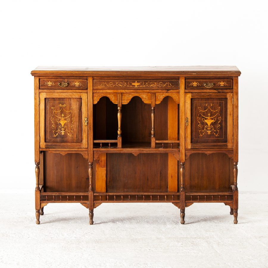 ALTEA IMG 7502 300dpi Late Victorian Marquetry Inlaid Cabinet