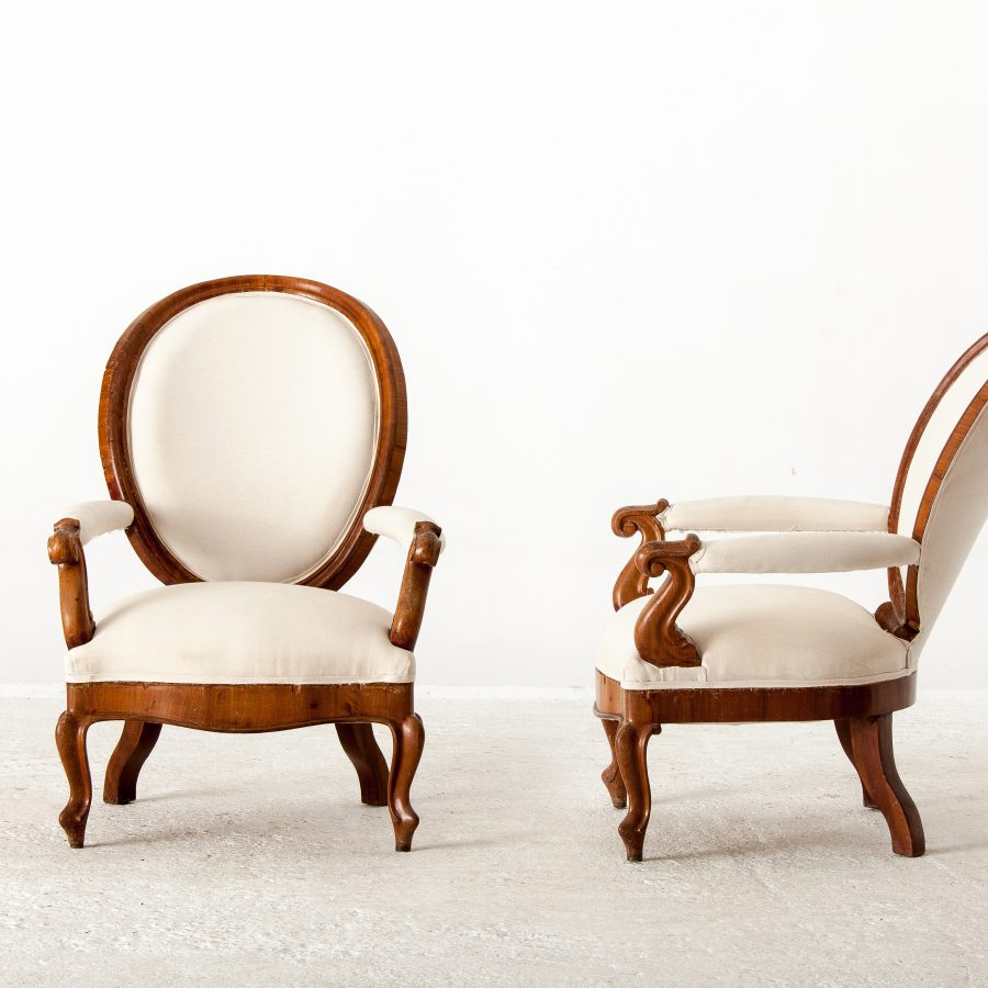 ALTEA IMG 7659 set 300dpi A Pair Of French Armchairs