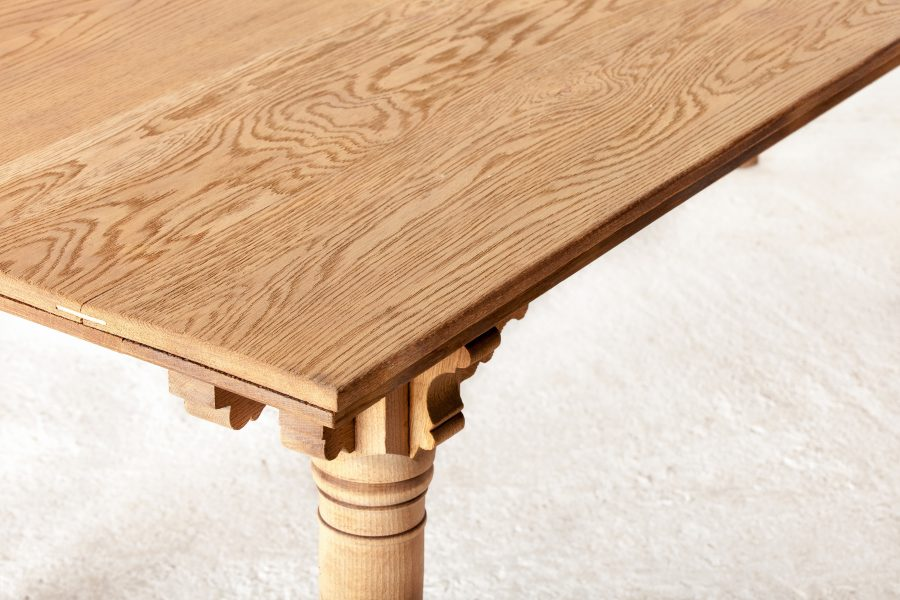 ALTEA IMG 7959 300dpi scaled Custom Oak Dinning Table